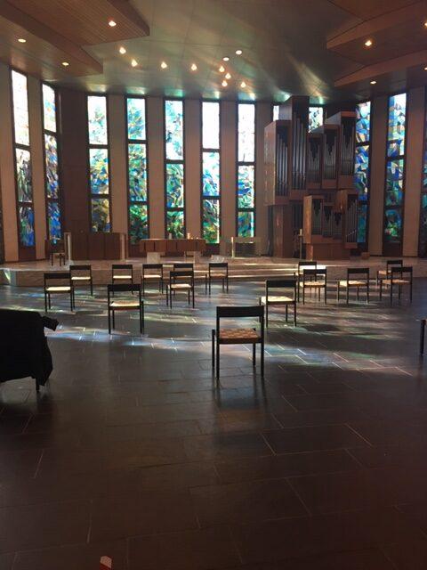chapelle funéraire crématoire Saint-Georges Suisse