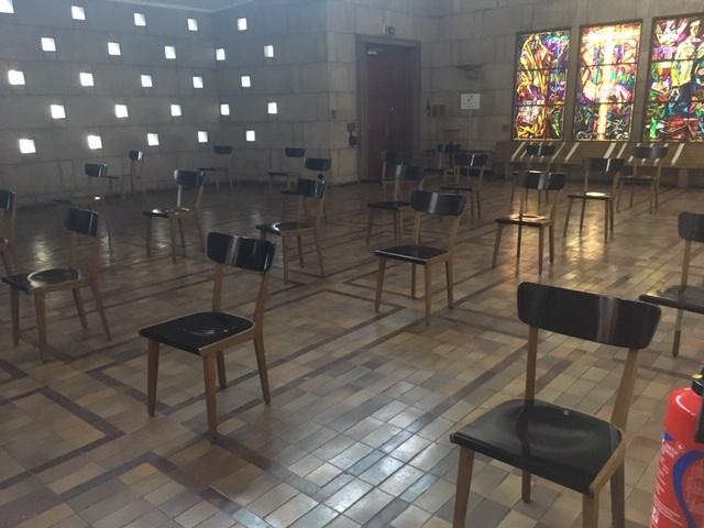 Chapelle funéraire crématoire